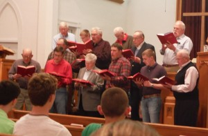 Brotherhood sing Lent 15