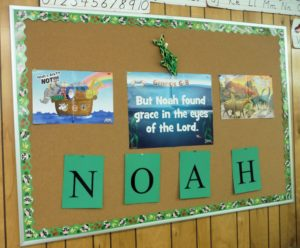 Noah bulletin board TH
