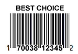 Best choice UPC