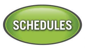 schedule graphic
